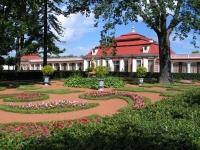 Партерный цветник перед Дворцом Мон Плезир