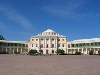 Павловск, Большой Каменный Дворец (арх. Ч. Камерон, 1782-1790, В. Бренна, 1797-1799, К. Росси, 1822-1824)