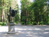 Павловск, Старая Сильвия, Апполон и двенадцать дорожек (арх. В. Бренна, 1790-е)