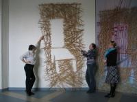 Выставка «12 стульев». В работе