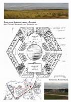 Эскиз-проект Индийского двора в Этномире (пос. Петрово, Боровский р-он, Калужская область)