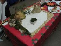 Оформление стола «Планеты суши»на конкурсе кулинаров