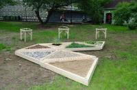 «Сенсорный сад». «Зеленая неделя» 2012 в Парке Горького.