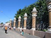 Санкт-Петербург. Михайловский сад. Ограда