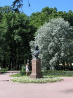 Санкт-Петербург. Александровский сад. Памятник Горчакову