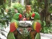 Садовый фонтанчик
