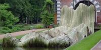 Тетсунори Кавана, Инсталляция «Зеленая волна», Москва, «Аптекарский огород», 2005