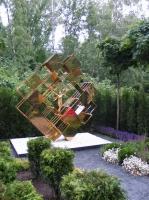 Фестиваль «Сады и люди» 2014,  авторский сад «Денежный сад Главбуха», автор Елена Быкова