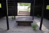 Сад «The black box garden» (