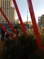 «Красный сад» Авторский коллектив компании «Архиленд». Адрес Площадь около метро «Баррикадная»