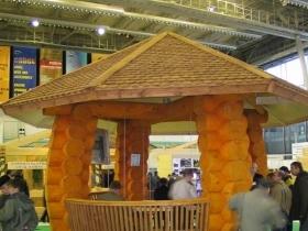 Выставка «Деревянное домостроение HOLZHAUS» 2010